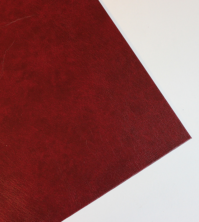 burgundy imitation leather cover